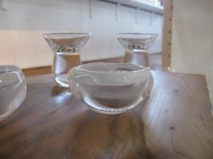 梅小鉢 1,600円  キノコ杯 1,600円(奥)
