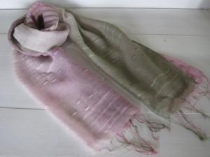 ストール:シルク、綿      4,320円