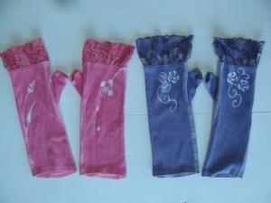 手袋:チュールレース 1,512円