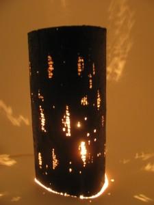 乾漆花器兼用灯り       6,500円