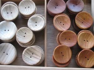 木のボタン(35mm)        ¥350-