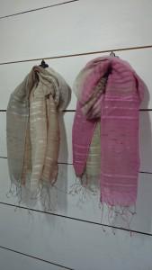 ストール        シルク、綿             ¥4,320