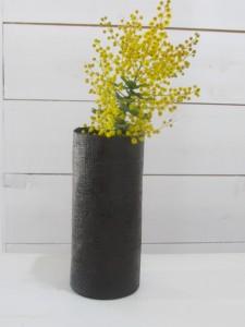 乾漆花器(高さ15cm)    3,500円