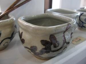 納豆鉢  3,000円 五山焼(朝比奈克文)